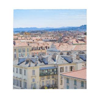 Bloc-note Nice du centre, France