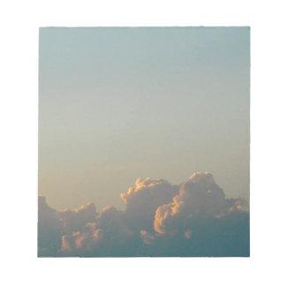 Bloc-note nuages en Roumanie