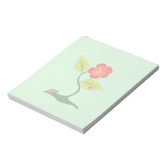 Bloc-note Plante et fleur