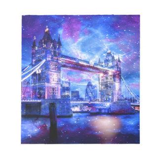 Bloc-note Rêves de Londres de l'amant