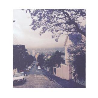 Bloc-note Rue à Cape Town
