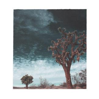 Bloc-note Special d'arbre de Joshua