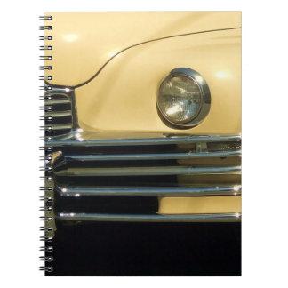 Bloc - notes classique de voiture carnets à spirale