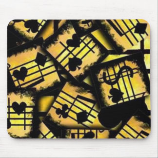 Bloc - notes de musique tapis de souris