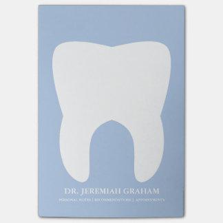 Bloc - notes personnel de bureau de dentiste post-it®
