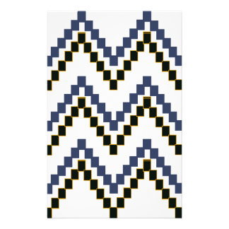 Bloc occidental blanc Chevron Papeterie