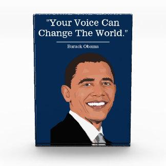 Bloc Photo Citation politique de | Démocrate | Barack Obama