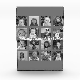 Bloc Photo Collage de photo d'Instagram - 16 photos peuvent