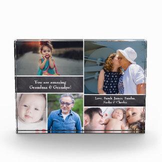 Bloc Photo Collage personnalisé de famille avec le tableau