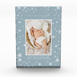 Bloc Photo Le meilleur cadeau de Noël nouveau-né