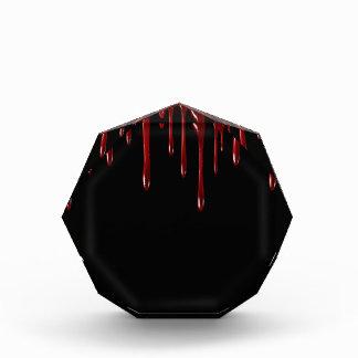 Bloc Photo Le sang de Falln s'égoutte le noir
