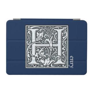 bloei zilveren monogram - H iPad Mini Cover