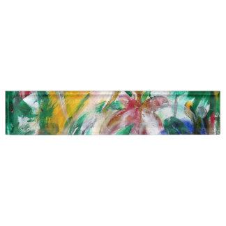BLOEIT abstracte ~ Naambord