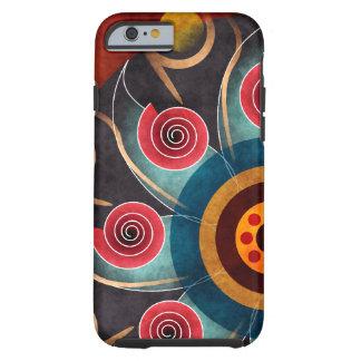 Bloemen iPhone 6 van de Kunst van de Kleur Abstrac