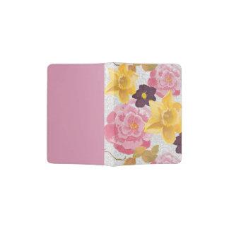 bloemen paspoorthouder paspoort houder