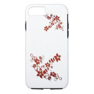 Bloemen Witte iPhone 7 van het Ontwerp van de iPhone 8/7 Hoesje