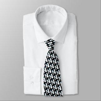 Bloquez la rétro cravate graphique de motif de