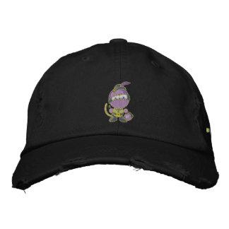 Blurple a affligé le casquette de sergé de Chino