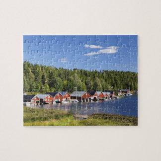 Boathouse à la haute côte puzzle