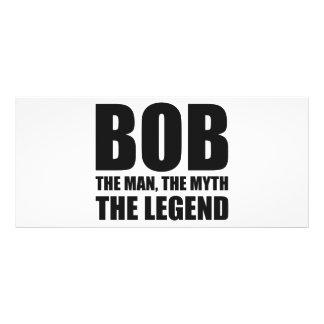 Bob l'homme le mythe la légende cartons d'informations  10 cm x 22,9 cm