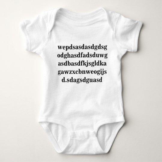 Body A fait la conception de bébé ceci