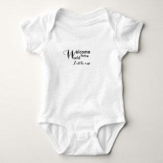 Body Accueil au petit un bébé Jersey du monde