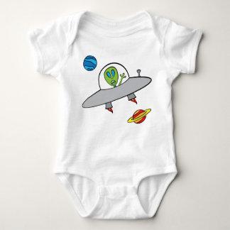 Body Alex l'alien - combinaison du Jersey de bébé