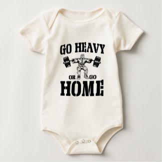 Body Allez lourd ou rentrez à la maison haltérophilie