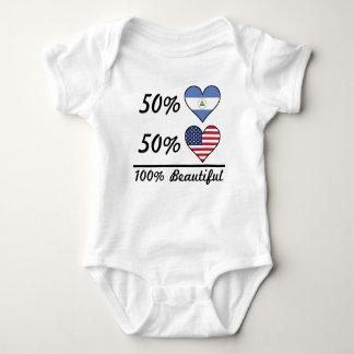 Body Américain du nicaraguayen 50% de 50% 100% beau