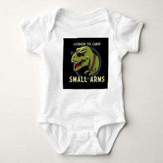 Body Autorisé à porter l'habillement de bébé de Dino
