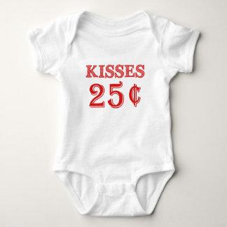 Body Baisers Saint-Valentin de combinaison de bébé de