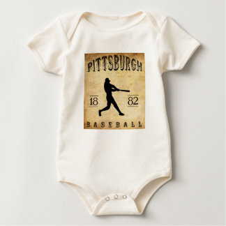 Body Base-ball 1882 de Pittsburgh Pennsylvanie