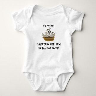 Body Bateau personnalisé de capitaine pirate de bébé