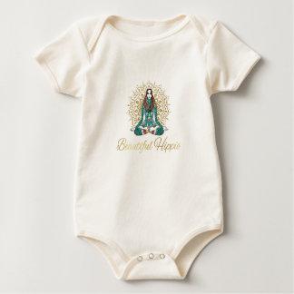 Body Beau bébé organique hippie