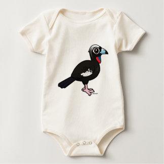 Body Birdorable Noir-a affronté Guan sifflant