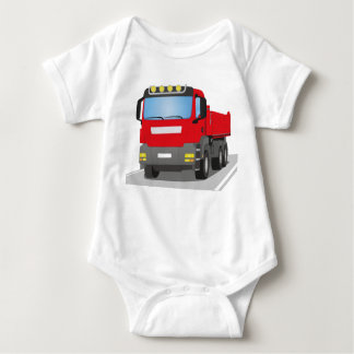 Body chantiers camion rouges