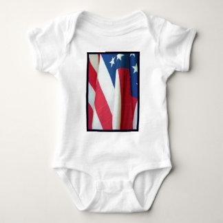 Body Chemise de bébé de drapeau américain
