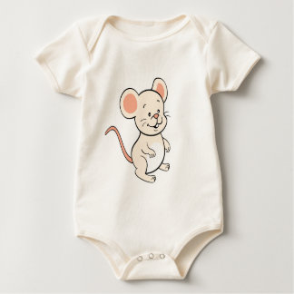 Body Chemise de bébé de souris