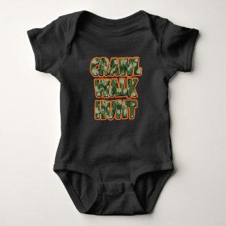 Body Chemise drôle de bébé de chasse à promenade de