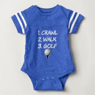 Body Chemise drôle de bébé de golf de promenade de