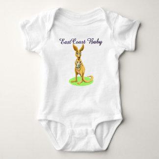 Body Chemise mignonne de kangourou de bébé de Côte Est