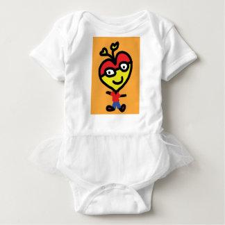 Body coeur de ballot de bébé
