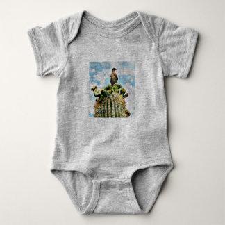 Body Colombe sur le costume de corps de bébé de Saguaro