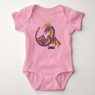 Body Combinaison 3 de dragon de bébé de Cutie
