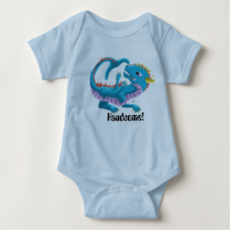 Body Combinaison belle de dragon de bébé