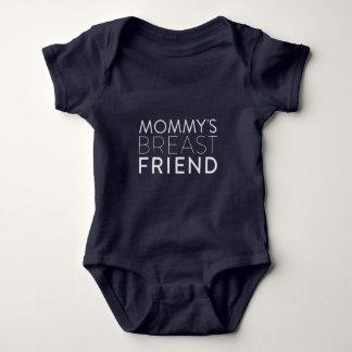 Body Combinaison de bébé d'ami du sein de la maman