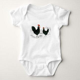 Body Combinaison de bébé de coq et de poule