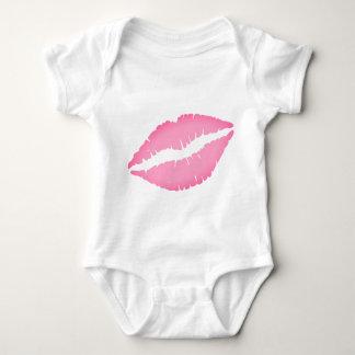 Body Combinaison de bébé d'impression de baiser