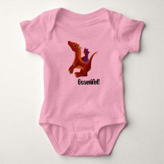 Body Combinaison de dragon de bébé du feu