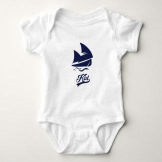 Body Combinaison du Jersey de bébé de famille de bateau